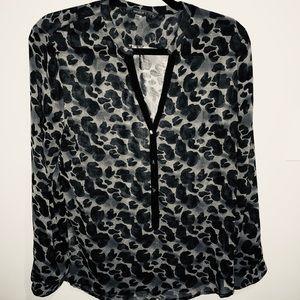 Fun 2 Fun black blouse